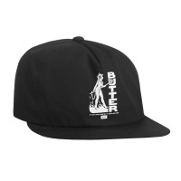 HUF X BUTTER GOODS DEVIL SNAPBACK BLACK