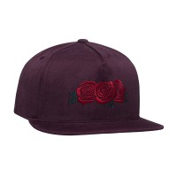 TRIPLE ROSE SNAPBACK HAT PORT ROYALE