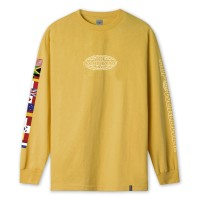 WORLD TOUR L/S TEE SAUTERNE