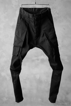 N/07 exclusive CONSTRUCTIVE LAYERED CARGO JODHPURS [ Stretch Weapon / Object Dye ]