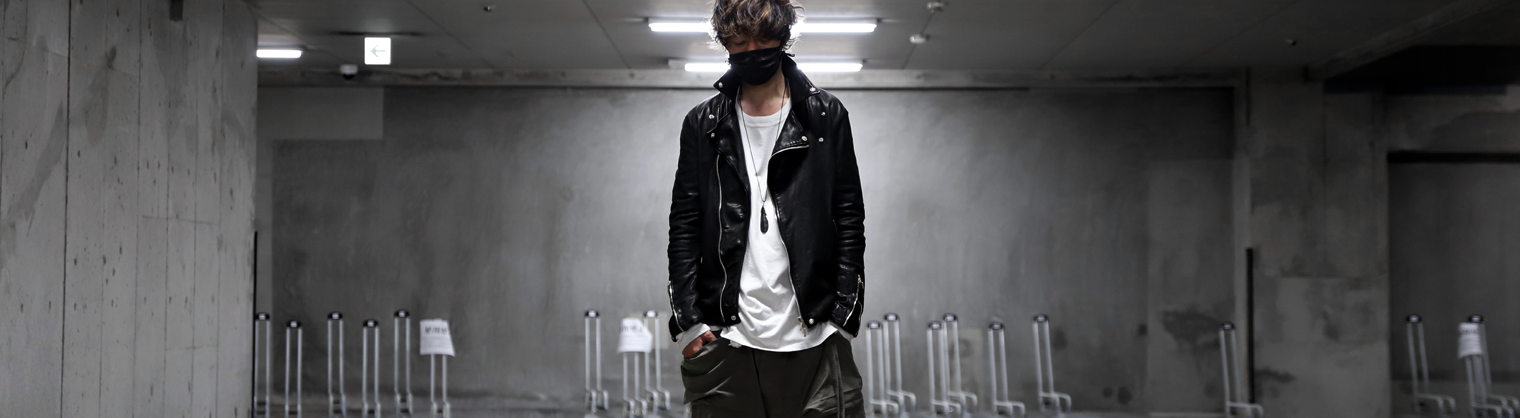 BACKLASH THE LINE 【バックラッシュ ザ ライン】 Italy Calf Leather Jacket.